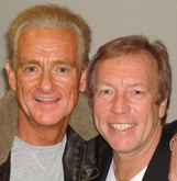 Graham Bonnet and Richard Gower