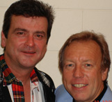Les McKeown of Bay City Rollers and richard Gower