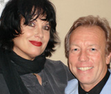 Martha Davis of The Motels and Richard Gower