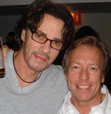 Rick Springfield and Richard Gower